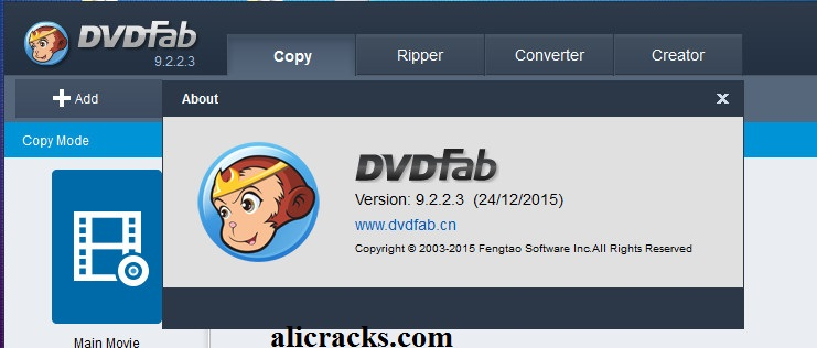 DVDFab 10.0.6.8 Crack With Keygen Free